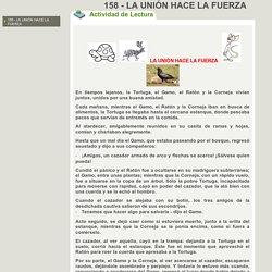 158 - LA UNIÓN HACE LA FUERZA