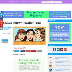 16 Little-Known Teacher Tools
