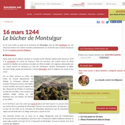 16 mars 1244 - Le bûcher de Montségur