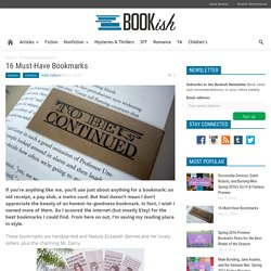 16 Must-Have Bookmarks