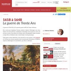 1618 à 1648 - La guerre de Trente Ans