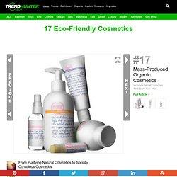 17 Eco-Friendly Cosmetics
