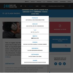 17. Le flash radio