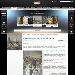 1789 Serment du Jeu de Paume