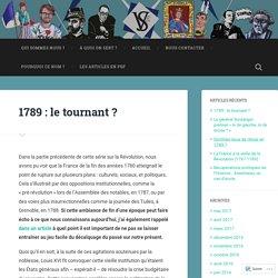 1789 : le tournant ? – Veni Vidi Sensi