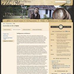 1790s : Indigenous resistance