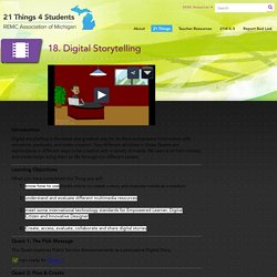 18. Digital Storytelling