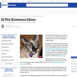 18 Pet Business Ideas