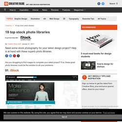 18 top stock photo libraries
