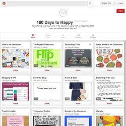 180 Days to Happy on Pinterest