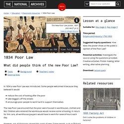 1834 Poor Law