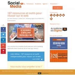 187 ressources et outils pour réussir sur le web