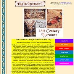18th Century Literature