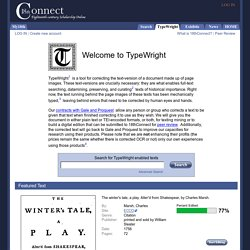 18thConnect - TypeWright