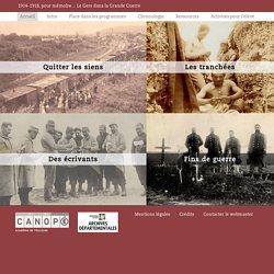 1914-1918, pour mémoire...