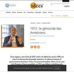 1915 : le génocide des Arméniens