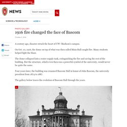 1916 fire changed the face of Bascom