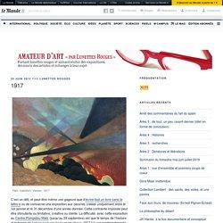1917 – Amateur d'art