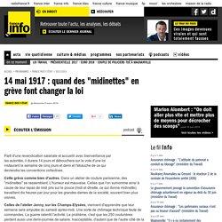 """14 mai 1917 : quand des """"midinettes"""" en grève font changer la loi"""