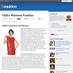 1920′s Womens Fashion