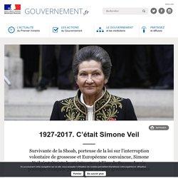 1927-2017. C'était Simone Veil