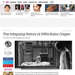 1930s Outdoor Baby Cages - Historic Home Trends and Ideas