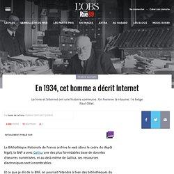 En 1934, cet homme a décrit Internet