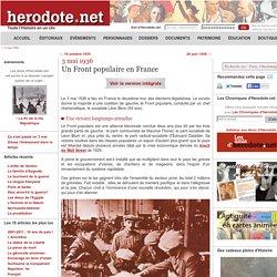3 mai 1936 - Un Front populaire en France