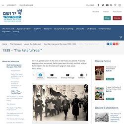 "1938 – ""The Fateful Year"""
