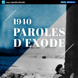 1940 : paroles d'exode - FRANCE 24