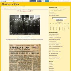 1944 : Le programme du CNR