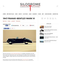 1947 Franay-Bentley Mark VI | (SILODROME)