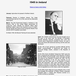 1949 in Ireland