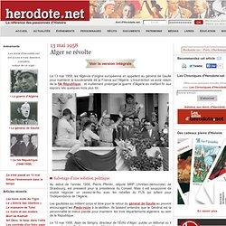 13 mai 1958 - Alger se révolte