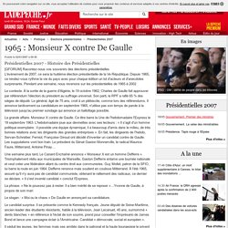 1965 : Monsieur X contre De Gaulle - 02/01/2007 - ladepeche.fr