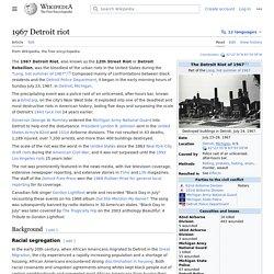 1967 Detroit riot - Wikipedia