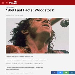 1969 Fast Facts: Woodstock