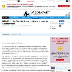 1972-2012 : le Club de Rome confirme la date de la catastrophe