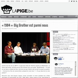 «1984»: Big Brother est parmi nous