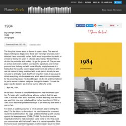 1984 - Download Free eBook