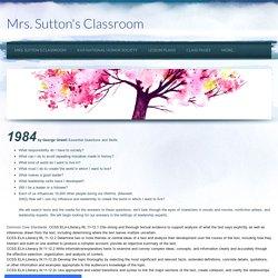 1984 - Mrs. Sutton's Classroom