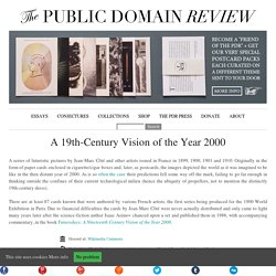 A 19th-Century Vision of the Year 2000