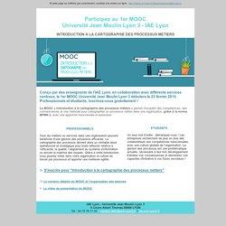 1er MOOC Universit Lyon 3 - IAE Lyon !