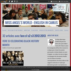 1ere s1 s2 s3 2012-2013 - MISS ANGEL'S WORLD : ENGLISH IN CAMUS