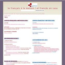 1ère - le français à la maison / el francés en casa