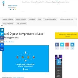 1min30 pour comprendre le lead management