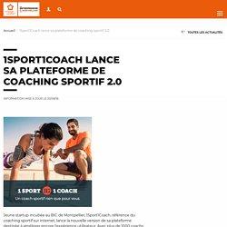 1Sport1Coach lance sa plateforme de coaching sportif 2.0