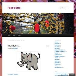 Pepa's Blog