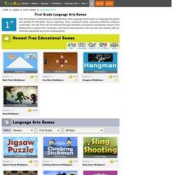 1st Grade Language Arts Games