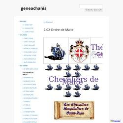 2-02 Ordre de Malte - geneachanis